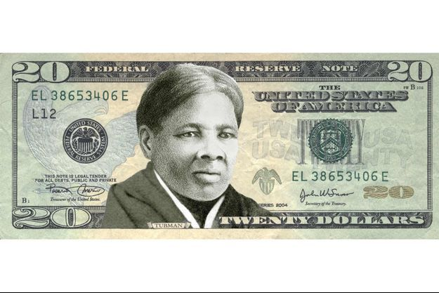 Harriet Tubman va figurer sur les billets de 20 dollars aux Etats-Unis.