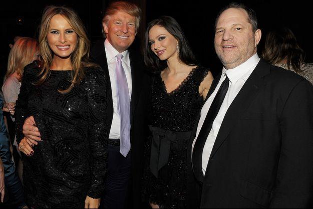Melania Trump, Donald Trump, Georgina Chapman, Harvey Weinstein
