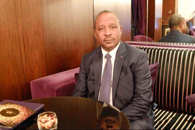 Hassoumi Massaoudou, ministre de l'Intérieur du Niger.