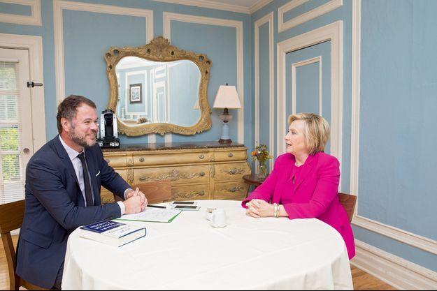 Le 21 septembre 2017. A Olivier O'Mahony, notre reporter, Hillary Clinton confie en avoir fini avec les campagnes électorales mais pas avec la politique.