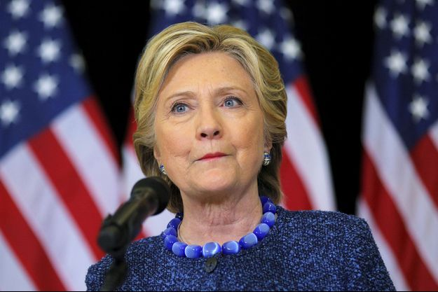 La candidate démocrate Hillary Clinton, le 28 octobre.