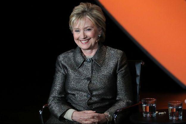 Hillary Clinton était à New York jeudi.