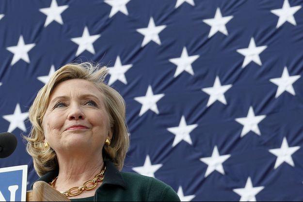 Hillary Clinton à Des Moines dimanche.