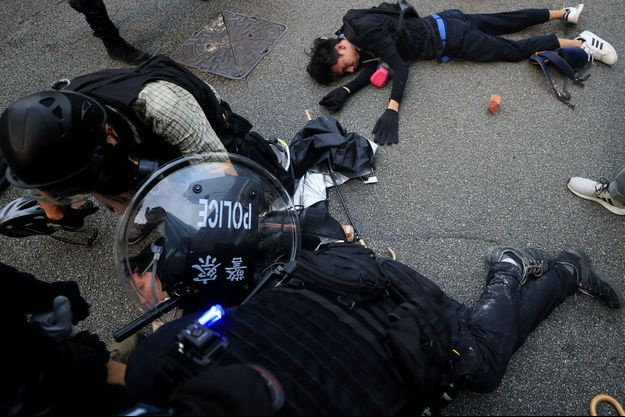 Les manifestations à Hong Kong ont encore été le théâtre de violences ce week-end.