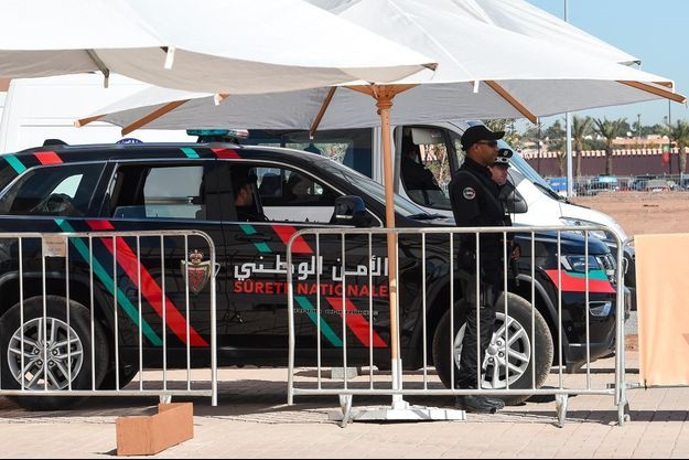Maroc police
