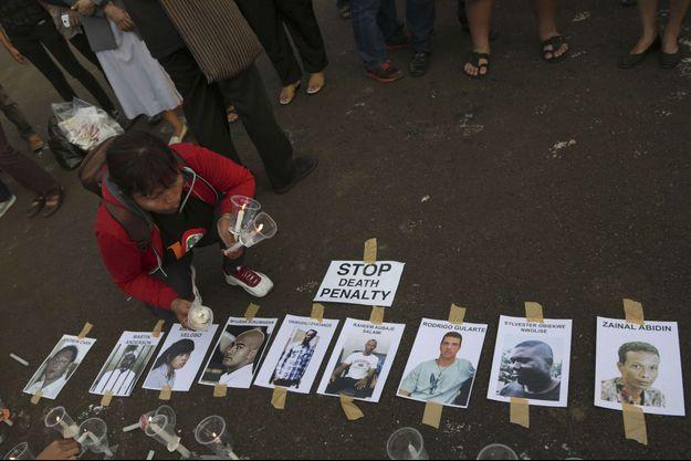 Huit prisonniers indonésiens ont été exécutés ce mardi.