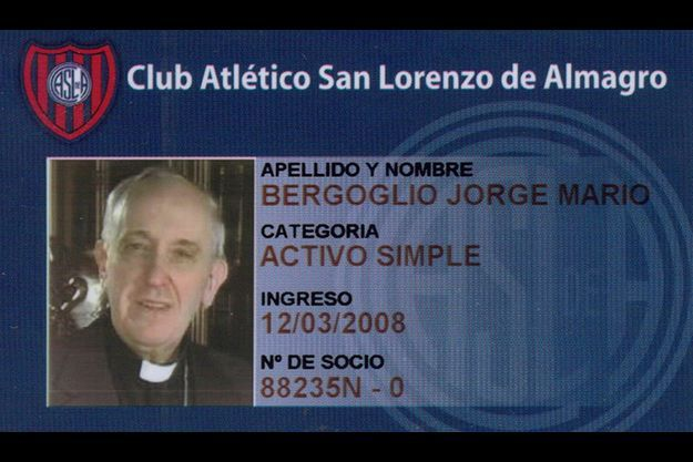 Le pape est membre du club San Lorenzo.
