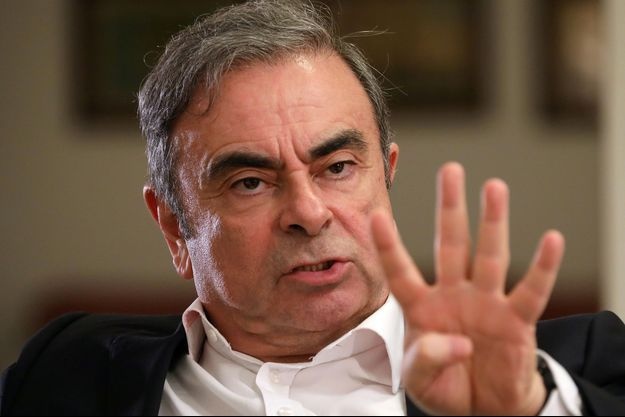 Carlos Ghosn au Liban, le 14 janvier 2020.