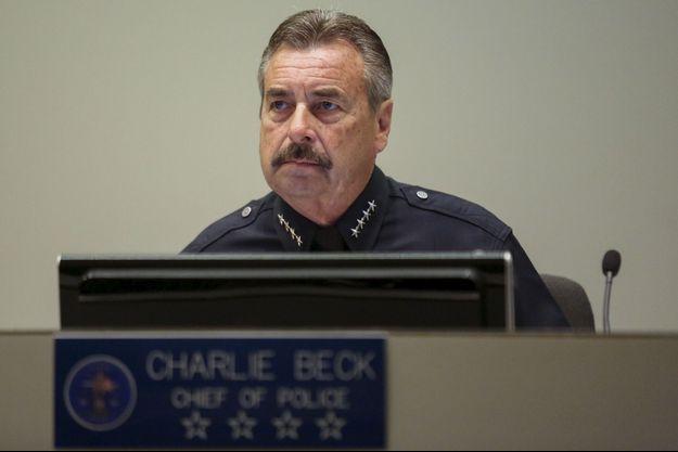 Charlie Beck, le patron de la police de Los Angeles, photographié en juin 2015.