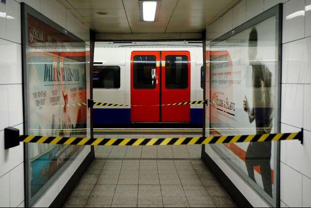 La station Oxford Circus a été évacuée (photo d'illustration).