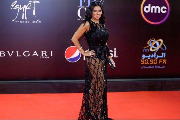 Rania Youssef à la clôture du festival international du film du Caire, le 29 novembre dernier.