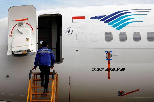 Un Boeing 737 MAX 8 de la compagnie Garuda.