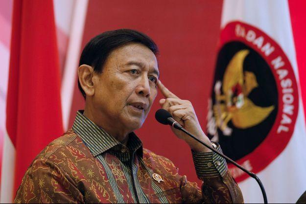 Le ministre indonésien à la Sécurité Wiranto