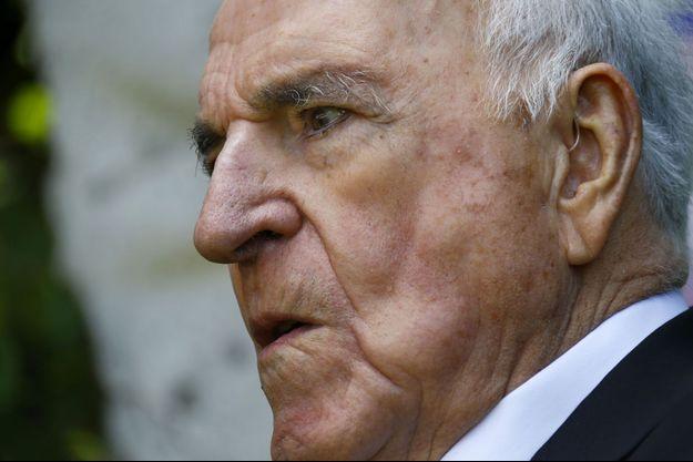 Helmut Kohl en 2014.