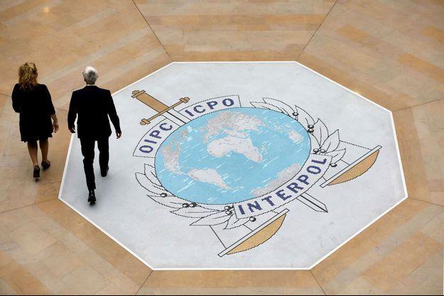 Au siège d'Interpol, à Lyon. Image d'illustration.