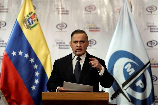 Le procureur général du Venezuela Tarek William Saab, le 8 mai 2020.