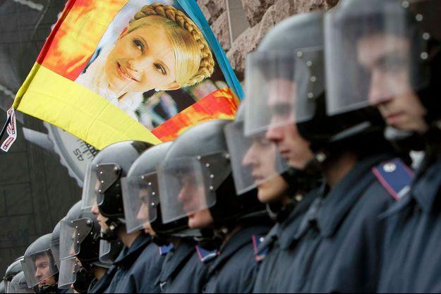 Une manifestation appelant à la libértaion de Ioulia Timochenko, le 23 octobre dernier à Kiev.