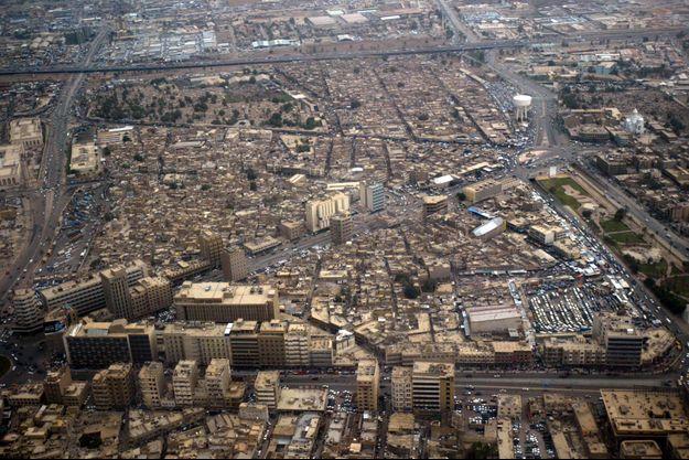 Vue aérienne de Bagdad (photo d'illustration)