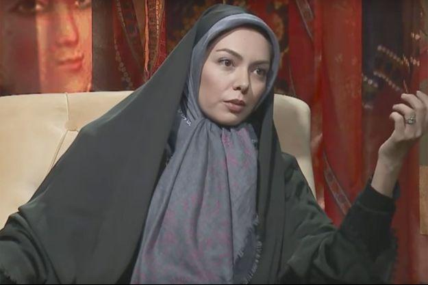 Azadeh Namdari interviewée à la télévision iranienne (image d'illustration).