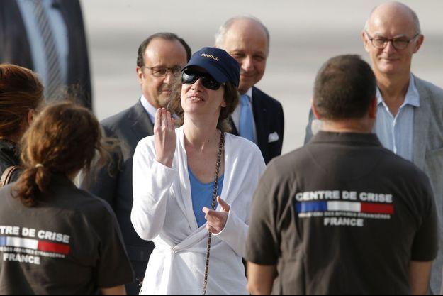 Isabelle Prime est arrivée en France.