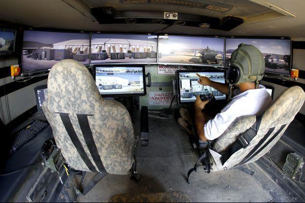 L'un des prototypes de tank permettait à des soldats d'accéder à des fonctions via une console de jeu vidéo de type Xbox.