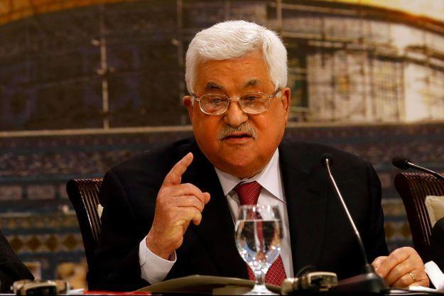 Mahmoud Abbas, le 30 avril 2018.