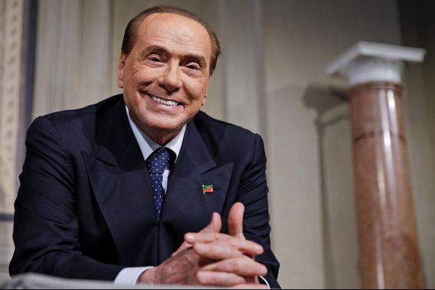 Silvio Berlusconi, le 12 avril 2018.