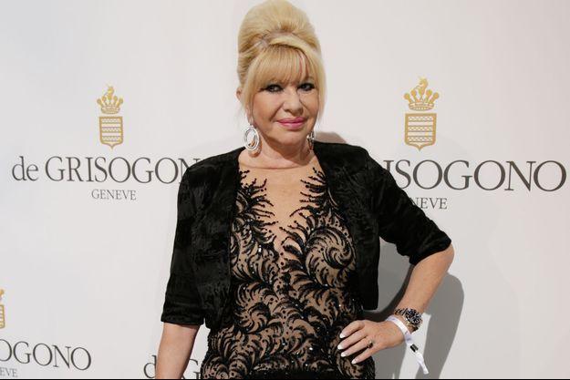 Ivana Trump en mai dernier à Cannes.