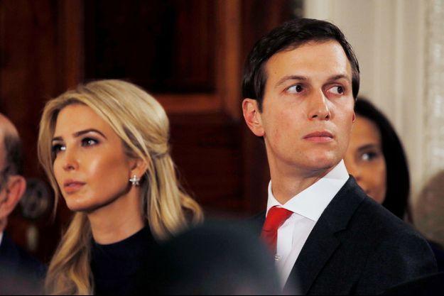 Ivanka Trump et son mari Jared Kushner
