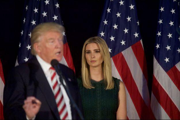 Donald et Ivanka Trump, en septembre 2016.