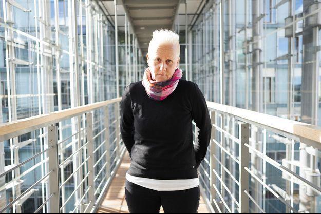 Angela Marquardt au Bundestag, à Berlin, où elle est attachée parlementaire.