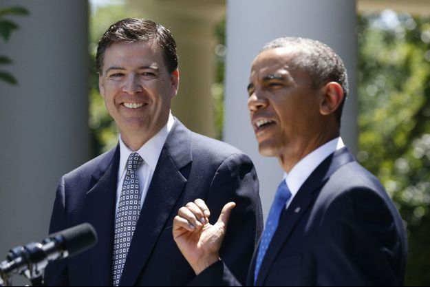 Barack Obama, vendredi, a nommé officiellement James Comey à la tête du FBI.