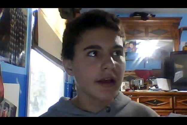 Jamey Rodemeyer, dans une de ses vidéos postée sur YouTube.