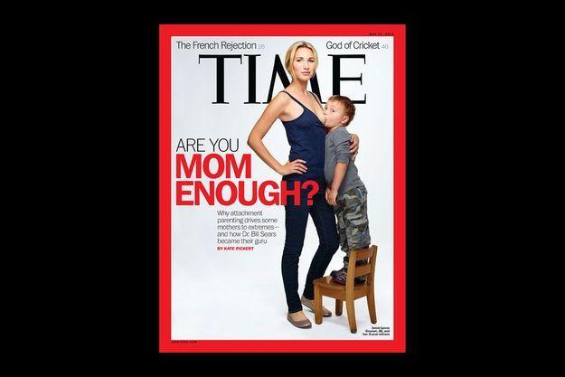 La couverture de «Time» daté du 21 mai.