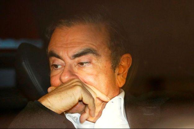 Carlos Ghosn à Tokyo, au Japon, en mars 2019.