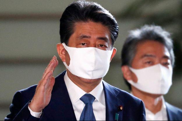Shinzo Abe, le 28 août 2020.