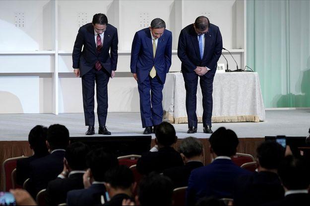 Yoshihide Suga élu pour remplacer Shinzo Abe.