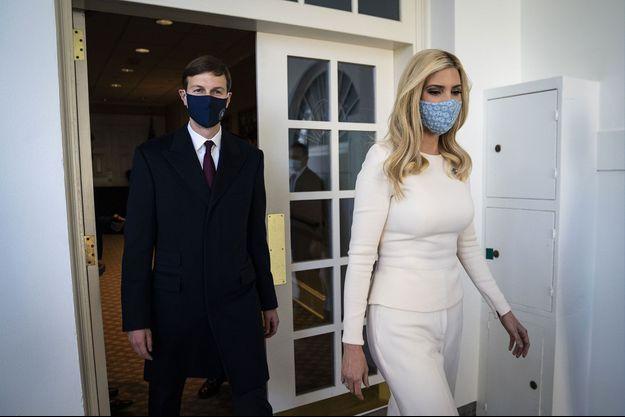 Jared Kushner et Ivanka Trump à la Maison-Blanche, le 24 novembre.