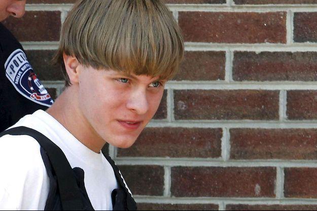 Dylan Roof lors de son arrestation
