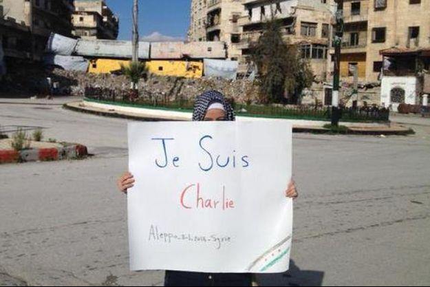 Cette photo de la journaliste syrienne Zaina Erhaim a fait le tour du monde.
