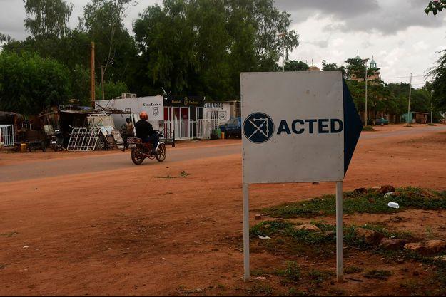 Près du bureau d'Acted au Niger.