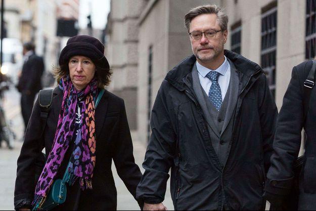 John Letts et Sally Lane, les parents de Jack Letts.