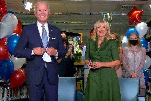 Joe Biden est officiellement devenu le candidat démocrate.