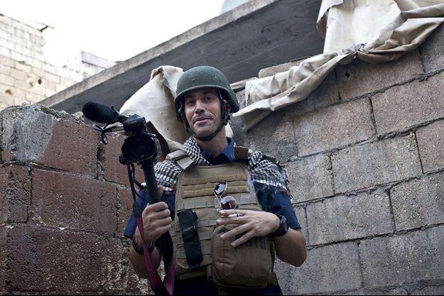 James Foley photographié par Nicole Tung en novembre 2012.