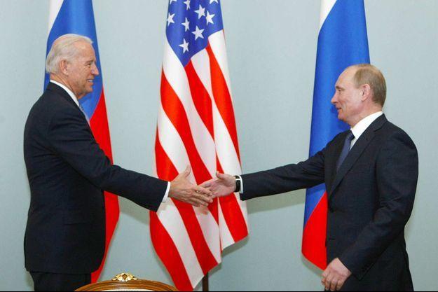 Joe Biden, Vladimir Poutine