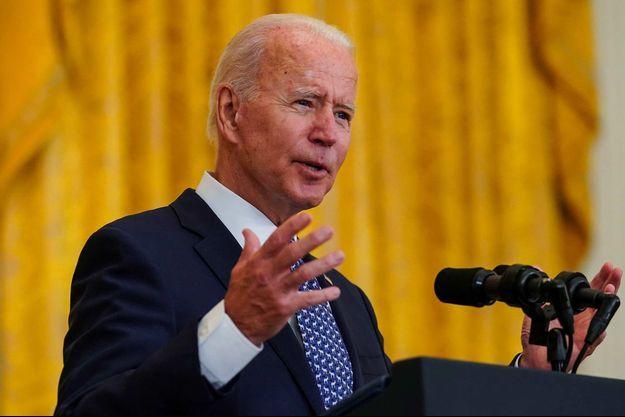 Joe Biden à la Maison-Blanche, le 8 septembre 2021.
