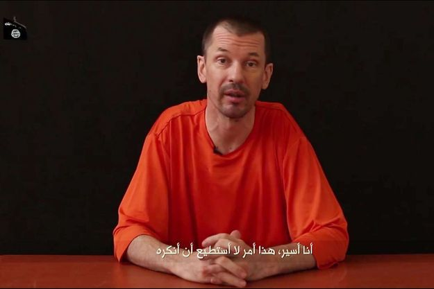 John Cantlie, otage devenu outil de propagande.