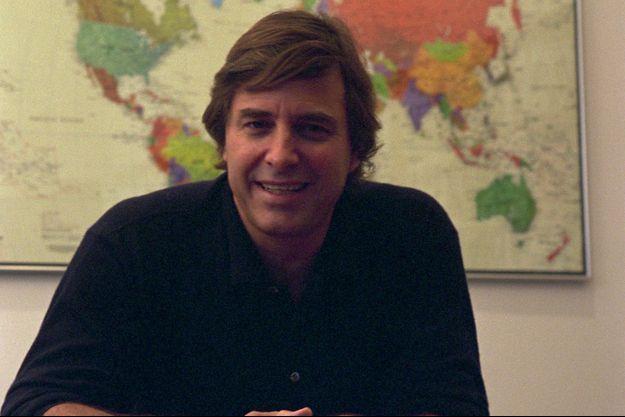 John Casablancas en 1994, dans ses bureaux de New York.