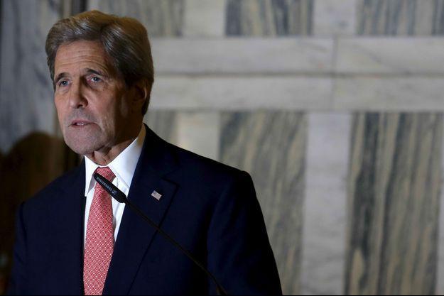 John Kerry, en Italie.