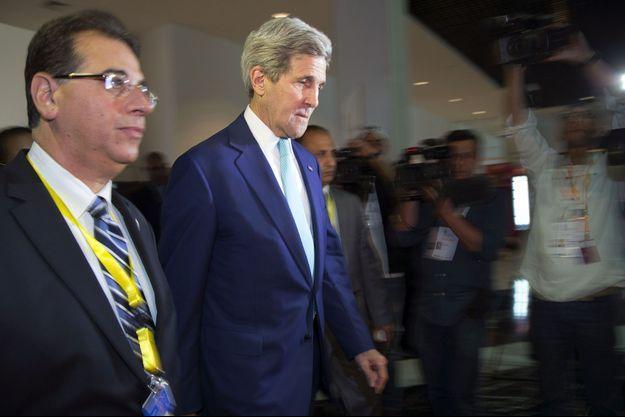 John Kerry dimanche à Charm el-Cheikh, en Egypte.